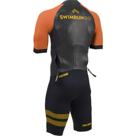 Colting Wetsuits Swimrun Go Wetsuit Men black/orange